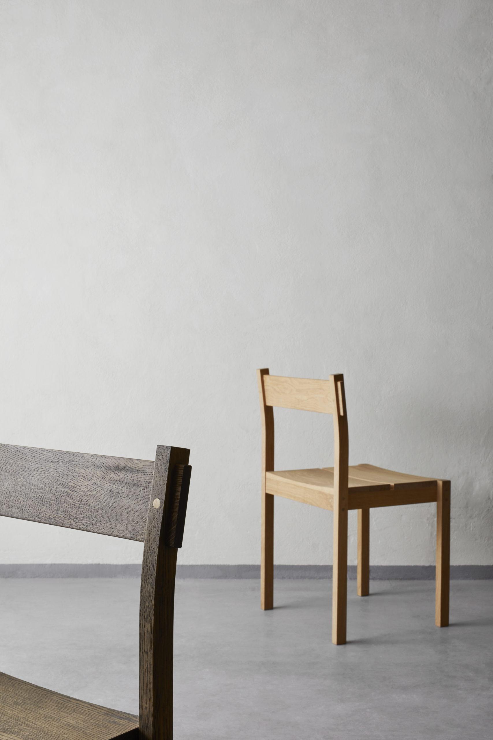 Thibault chairs oak